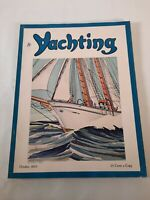 Vintage October 1935 Yachting magazine .Boating advertisements
