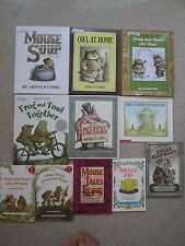 ARNOLD LOBEL LOT 11~Uncle Elephant~FROG TOAD FRIENDS~Small Pig~PIGERICKS~Ming Lo