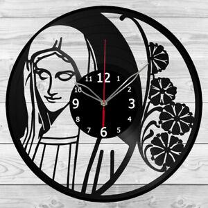Vinyl Clock St Mary Vinyl Record Wall Clock Home Art Decor Handmade 5855