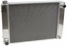 "PRW 5431928 Aluminum Racing Radiator With Modular Fittings Ford/Mopar 19"" x 28"""
