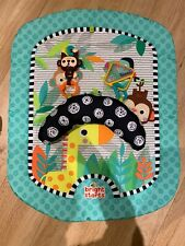 Bright Strats tummy time mat (forest Green/ Unisex)