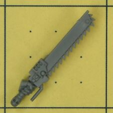 Warhammer 40K space marines tactical squad chainsword