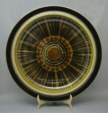 "Arabia Kosmos Plate 13.5"" Round Serving Plate Signed Olin Grönqvist EUC"
