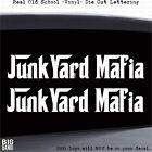 Junkyard Mafia Hot Rod Car Decal Sticker Salvage Parts Boneyard Wrecking Scrap