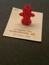 Vintage Hagen Renaker Miniature Fire Hydrant # A-444/464 Retired