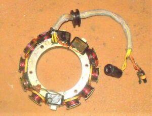 Johnson 90 HP 2 Stroke Stator Assembly PN 0584849 Fits 1991-2001