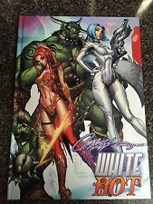 J. Scott Campbell WHITE HOT SKETCHBOOK AUTOGRAPHED SIGNED VAMPIRELLA EVIL DEAD