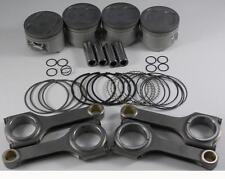 NIPPON RACING JDM TURBO HONDA B-SERIES PISTONS SCAT RODS B20Z CRV B20B  84MM