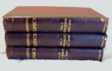 Antique 1899/1900 International Clinics Quarterly Volumes 1, 2 & 4 Ninth Series