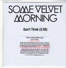 (DD987) Some Velvet Morning, Don't Think - 2011 DJ CD