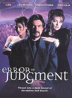 Error in Judgment (DVD, 2004) Joe Mantegna, Kate Jackson, Sung Hi Lee RARE fr/sh