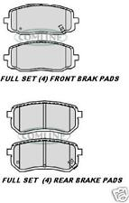 FOR KIA PICANTO FRONT & REAR BRAKE PAD SETS NEW