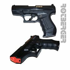P99 Special Agent Spielzeug Knall-Pistole für Fasching Karneval oder zum Spielen