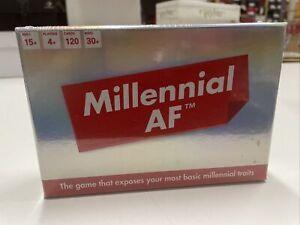 Bubblegum Stuff MILLENNIAL AF CARD GAME Cards Still Sealed