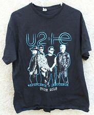 Used U2 Experience & Innocence Concert 2018 Short Sleeve Black Xl T-Shirt