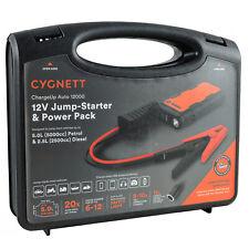 Genuine Cygnett 12,000mAh Car Jump Starter USB Power Pack Smartphone charger