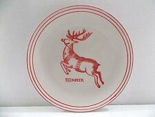 Holiday Reindeer Icon Canape Plate Molly Hatch Anthropologie