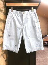 Vineyard Vines Boys Lacrosse Embroidered Shorts 14