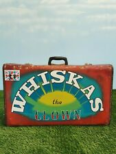 More details for whiskas the clown suitcase traditional circus fairground c1
