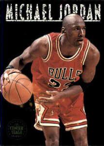 1993-94 SkyBox #CS1 MICHAEL JORDAN  Center Stage Chicago Bulls