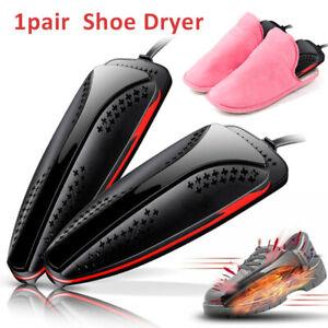 1 Pair Electric Shoe Dryer Boot Deodorant Dehumidify Warmer Heater Machine Set