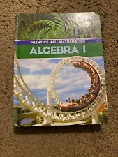 Prentice Hall Mathematics: Algebra 1- 2004 Edition Acceptable  ISBN 013052316X