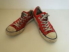 Converse all star Chuck sneaker baskets slim low tissu rouge taille 6,5/39,5