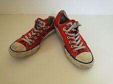 Converse All Star Chucks Sneaker Turnschuhe Slim Low Stoff Rot Gr. 6,5 / 39,5