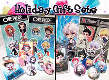 Anime Art Holiday Gift Set - Fairy Tail, One Piece, Avengers, Harry Potter +