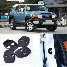 4pcs Auto Door Safety Striker Lock Protective Cover Kits For Toyota FJ Cruiser