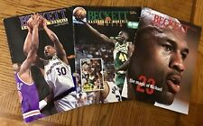 Beckett Basketball Monthly 3 Issues, June 1992 October 1993 December 1993, Good