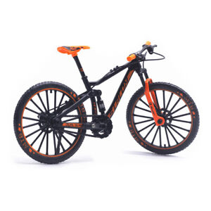 1:10 Lega Bicicletta Veicolo Modello Bambini Mountain Toys Regalo (Arancio) @ T