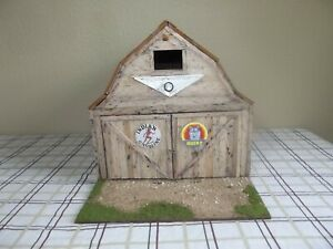 1/18 Scale Barn Weathered Custom For Your Cars DIORAMA DISPLAY HAND CRAFTED