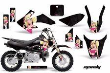 Dirt Bike Graphics Kit Decal Wrap For Honda CRF50 CRF 50 2004-2013 MANDY PNK BLK