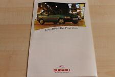 113062) Subaru Justy AWD Prospekt 01/1994