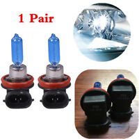 1 Pair H9 12V 65W 6000K White Xenon Headlamp Car DRL Better Visibility in Night