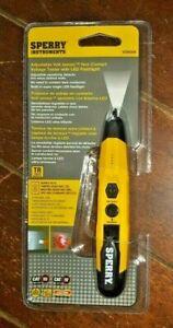 Sperry Adjustable Volt Sensor Non Contact Tester w/LED Flashlight - Item #VD6509
