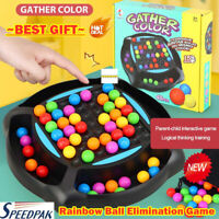 Rainbow Ball Elimination Game Rainbow Puzzle Magic Chess Toy Set for Kids Adult~