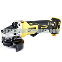 "New Dewalt DCG413B 20V Max XR 4-1/2"" Brushless Paddle Switch Angle Grinder"