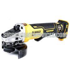 "New Dewalt DCG413B 20V Max XR 4-1/2"" Brushless Paddle Switch Angle Grinder"
