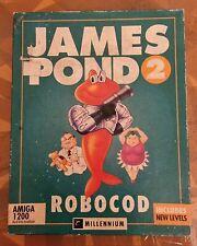 More details for james pond 2 robocod amiga 1200 retro big box vintage 1993 game