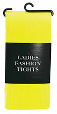 NEW Women's LADIES Opaque Fashion TIGHTS 40 Denier in Various Colours One Size
