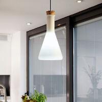 Modern Crystal Ceiling Light Pendant Lamp Fixture Lighting Chandelier milk bulb