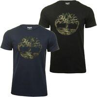 Timberland Mens Jersey T-Shirt 'Kennebec Tree Tee' - Short Sleeved