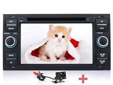 Rückfahrkamera+ Autoradio GPS DVD TFT Player Navi Für Ford S/C-Max Fiesta Galaxy
