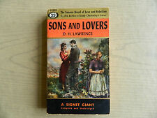Sons and Lovers by D.H. Lawrence, Signet Books First Printing, 1953