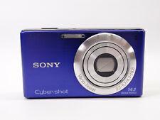Sony Cyber-shot DSC-W530 14.1MP Digital Camera - Purple - works with defect