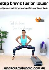 Step and Barre Legs EXERCISE DVD - Barlates Body Blitz STEP BARRE FUSION LOWER!