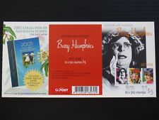 2006 Barry Humphries Stamp Booklets CTO