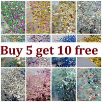 Chunky Festival Glitter Mix Face Eye Body Club Cosmetic 15x 5g BUY 5 GET 10 FREE